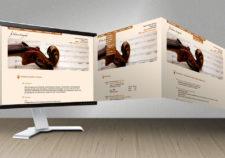 Edition Stringendo Website